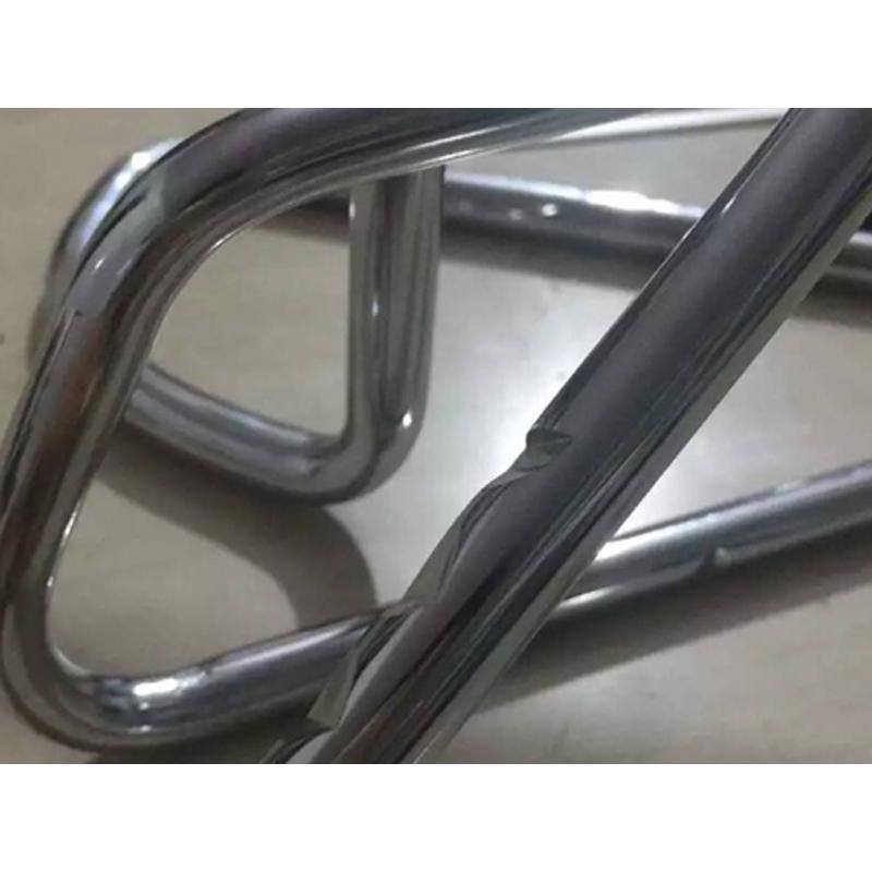 Sample after bending