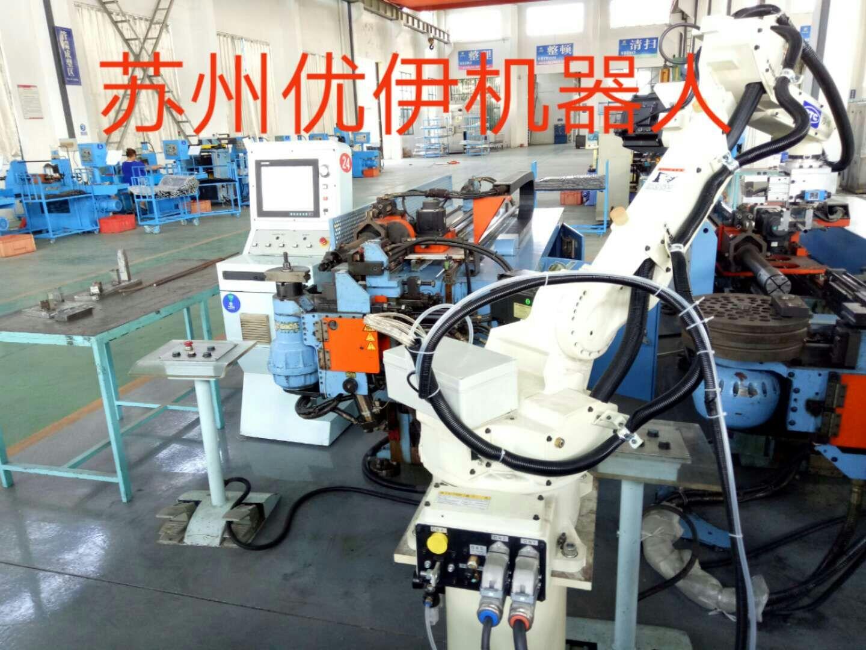 台湾和和机械弯管机与机器人自动生产线