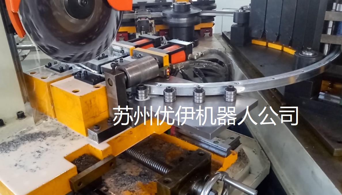 自动化程度很高的自动切管机生产线