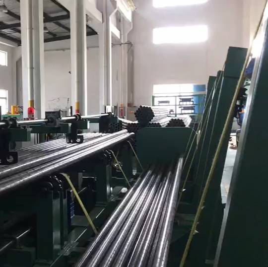 Non standard customized automatic pipe cutting machine production line (four out
