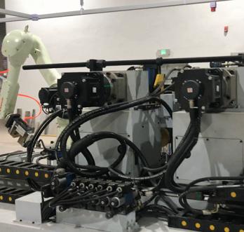40型伺服自动双弯机视频