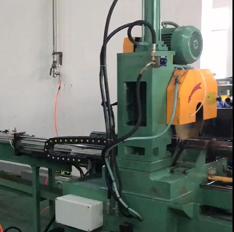 送管长度9米全自动切管机生产线