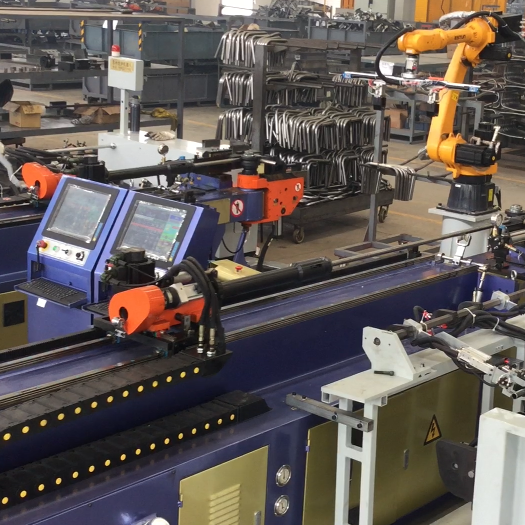 Video of Automatic Production Line of Pipe Bender