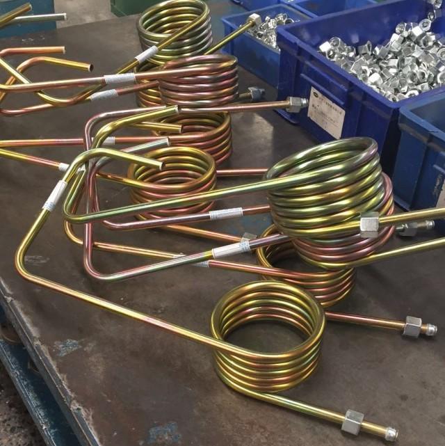 单头液压弯管机广泛应用于市场