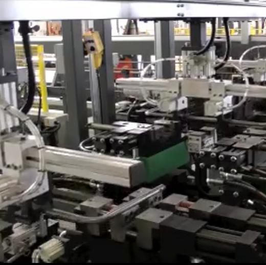 U形管自动双弯机冲孔生产线