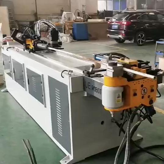 DW38CNC-3S-1S全自动弯管机视频