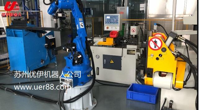 安川机器人与弯管机缩管机演绎新篇章