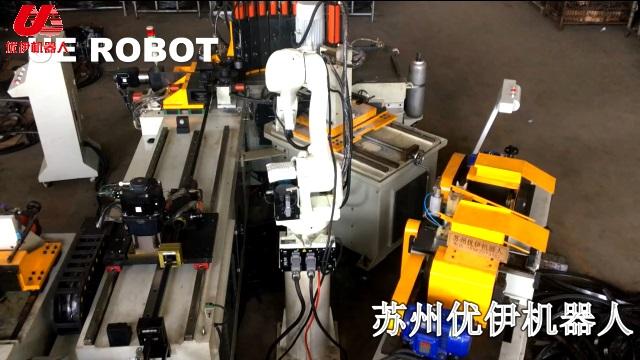 全自动切管机推弯冲孔自动化生产线